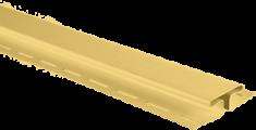 """Планка """"соединительная"""", 3м, цвет Жёлтый"""