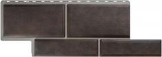 Фасадная панель Камень Флорентийский (коричневый)