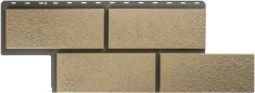 Фасадная панель Камень Неаполитанский (слоновая кость)